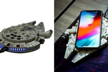 Millennium Falcon Wireless Charger
