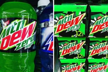 Mountain Dew Zero Sugar soda
