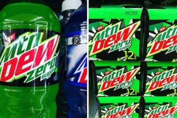 Mountain Dew Zero Sugar soda