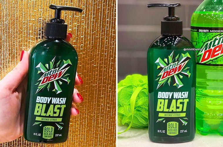 Mountain Dew body wash