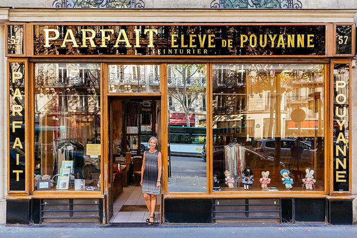 Nathalie Felber at Parfait Eleve De Pouyanne Storefront