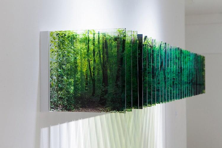 Nobuhiro Nakanishi Acrylic Layer Drawings