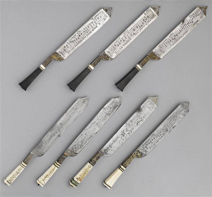 Notation Knives in France