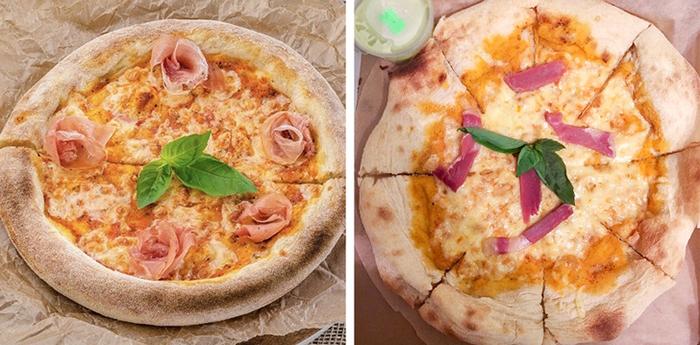 Pizza Photo on Menu Versus Actual Serving