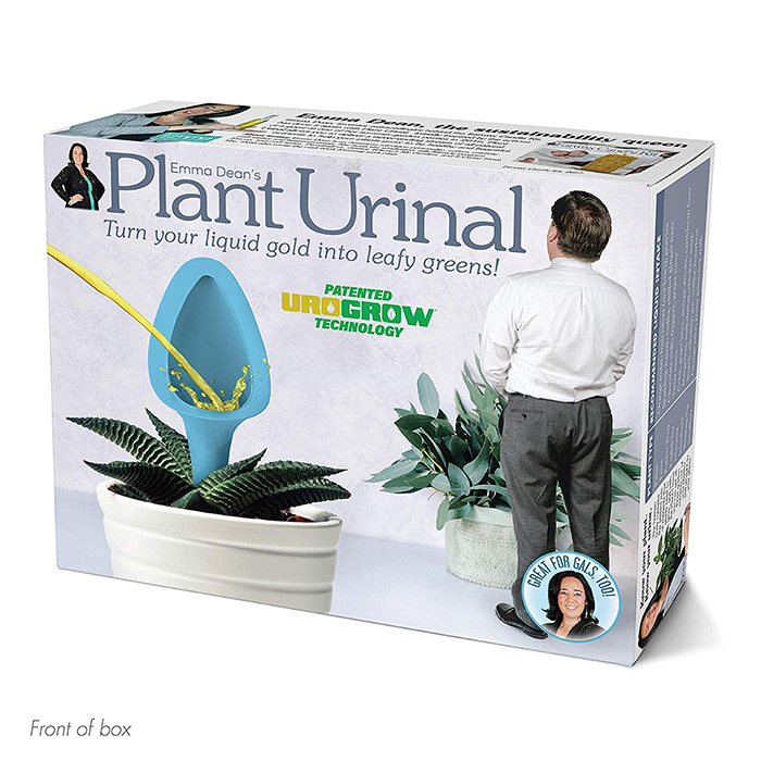 Plant Urinal Prank Gift Box Front