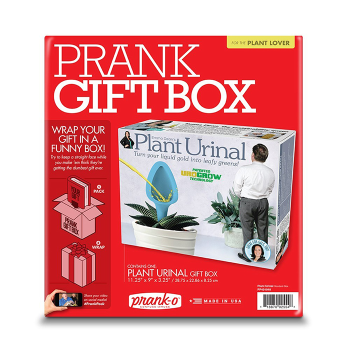 Plant Urinal Prank Gift Box Packaging