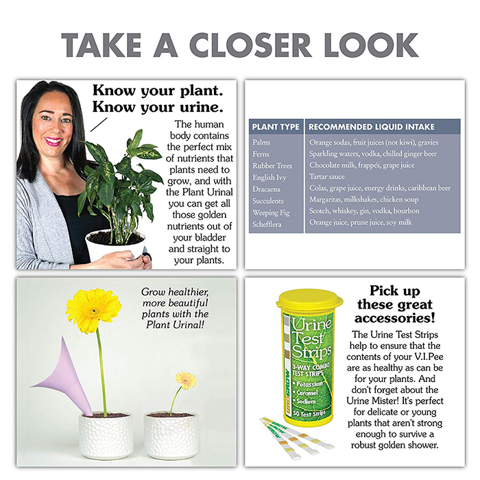 Plant Urinal Prank Gift Box Product Details