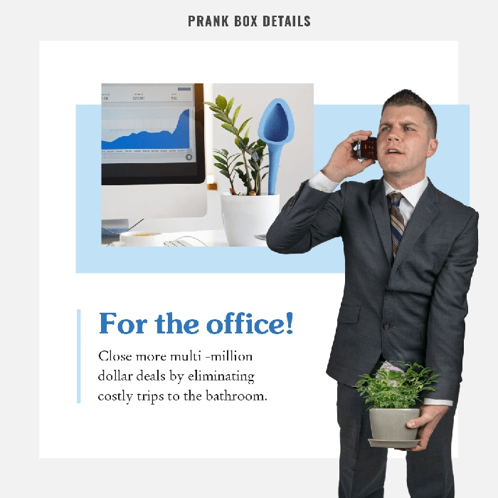 Plant Urinal for Office Use