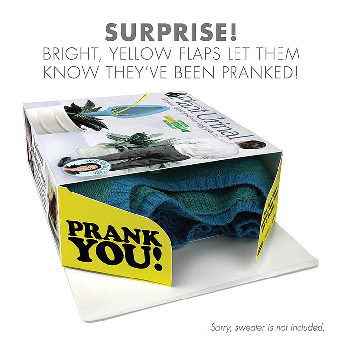 Real Gift Hidden Inside Prank Gift Box