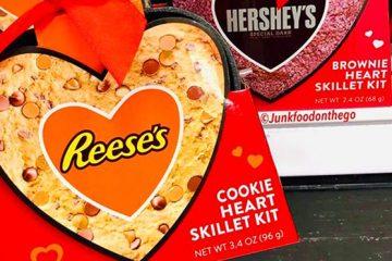 Reese's Cookie Heart Skillet kit