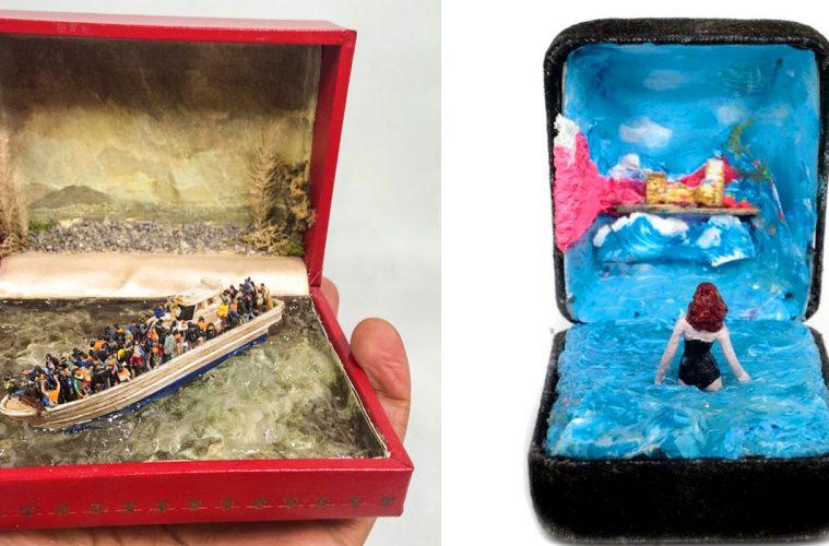 Ring Box dioramas