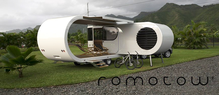 Romotow Futuristic Camper Trailer