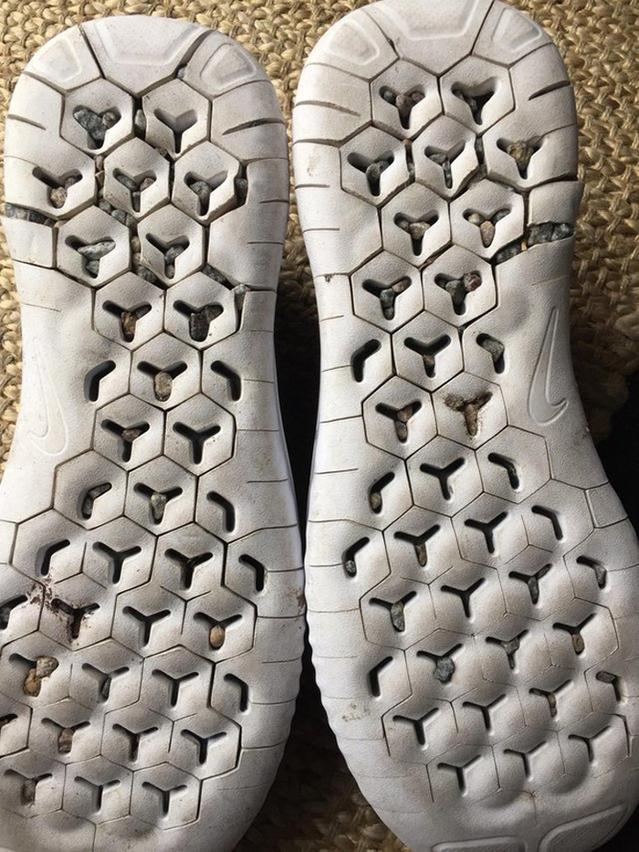 Running Shoes Fail Outsole Design