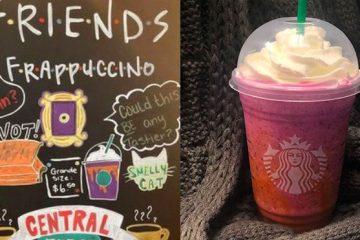 Secret Starbucks frappuccino