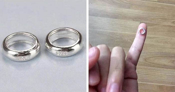 Shopping Disasters Ring Product Photo Versus Actual Product
