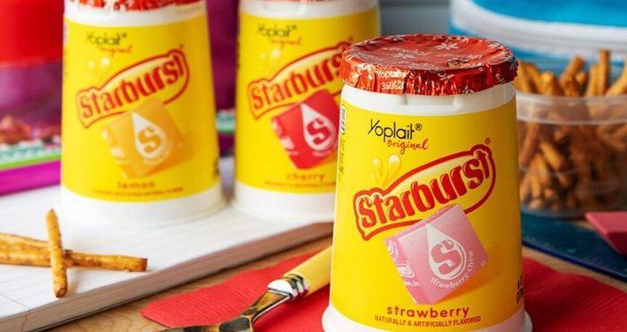 Starburst-flavored yogurt