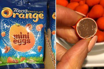 Terry's Chocolate Orange mini Eggs