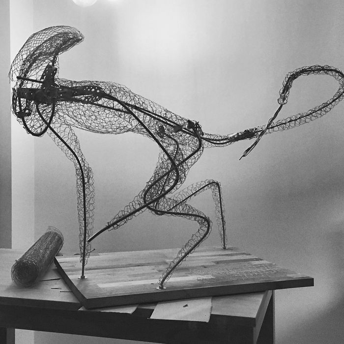 Xenomorph Gingerbread Sculpture Wire Support