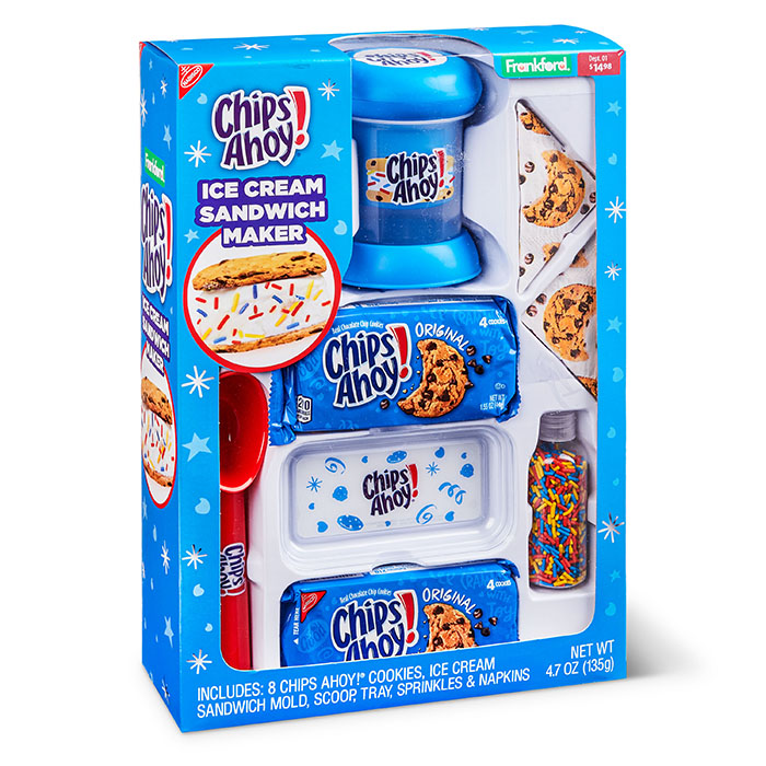 chips ahoy! ice cream sandwich maker