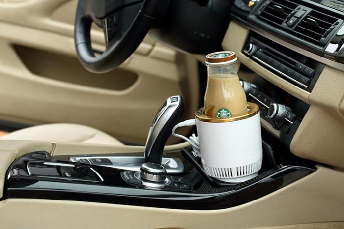 coffee in cup holder
