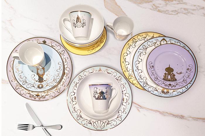 disney princess-inspired dinnerware