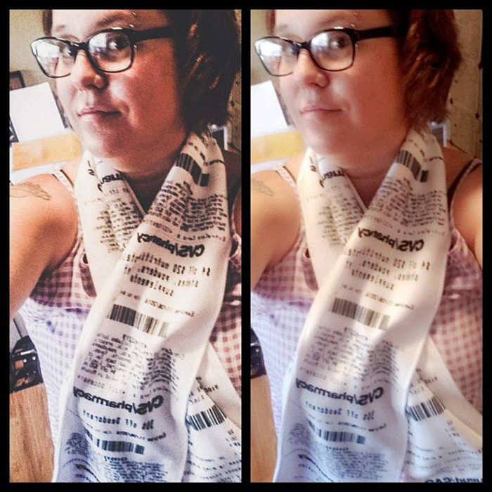 funny gift idea scarves