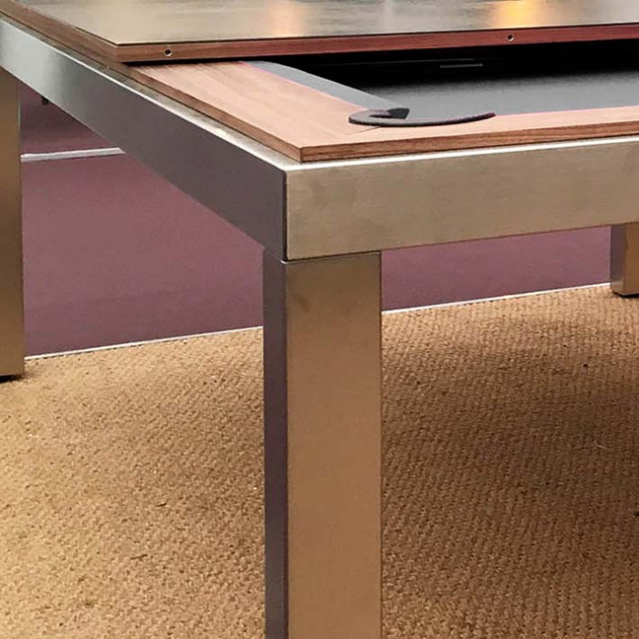fusion pool tables removable table top