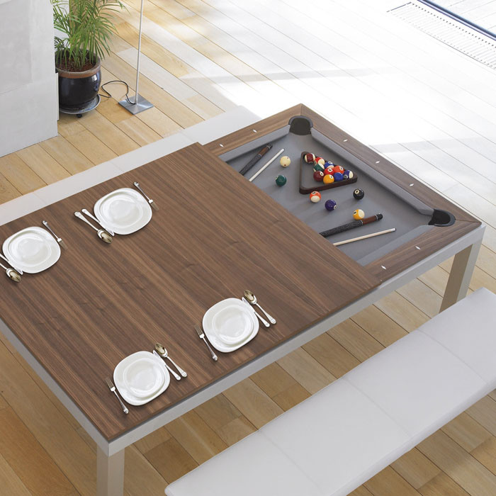 fusion pool tables wood
