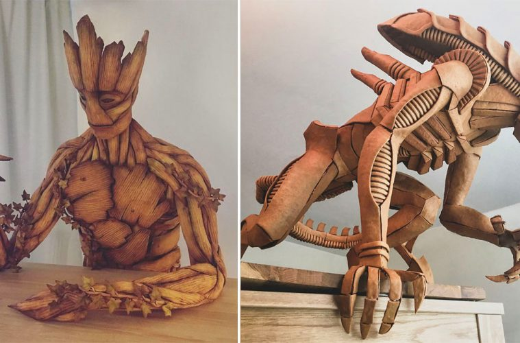 gingerbread sculptures