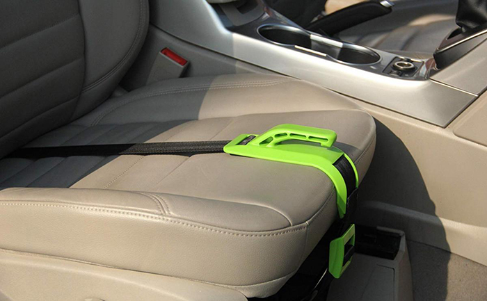 green bump belt holder