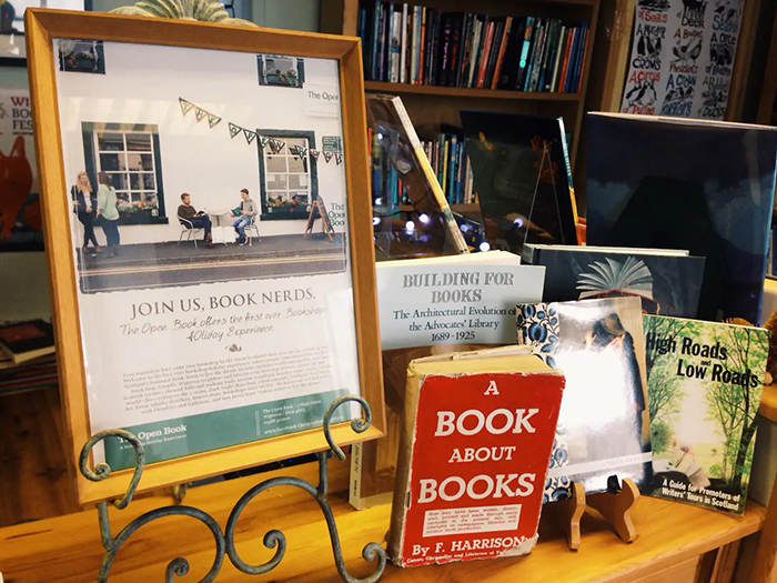 guests become bookshop owner