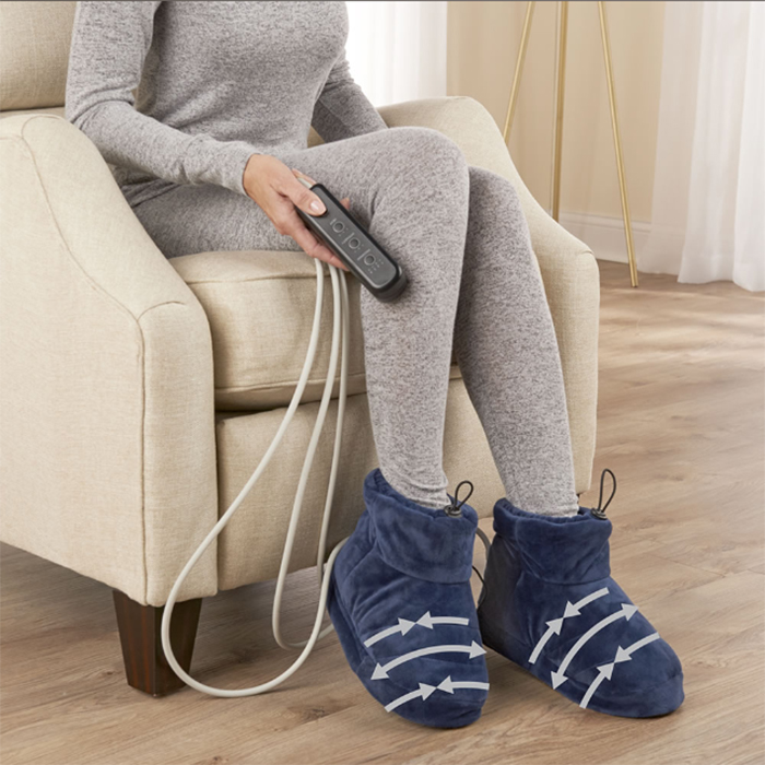heated slippers massager