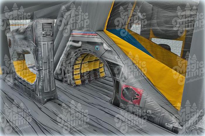 inflatable star wars spaceship