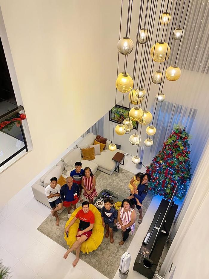 jayvee lazaro badile adoptive family new mansion