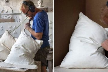 marble pillow sculptures