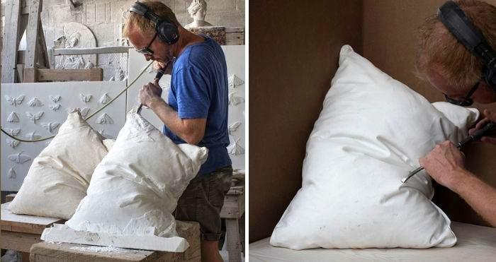 marble pillow sculptures