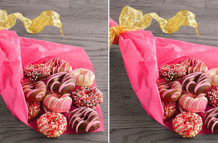 mini donut bouquet