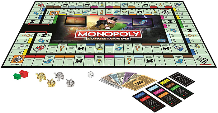 monopoly longest game ever board