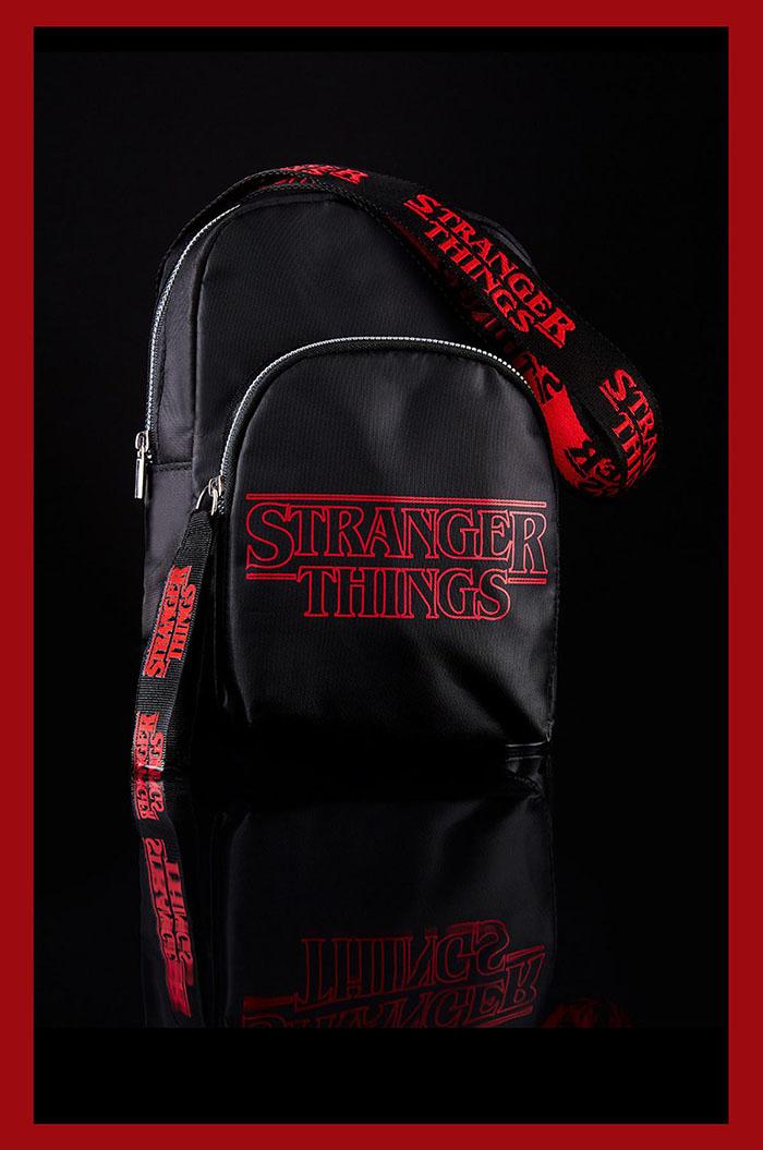 nylon black bag details