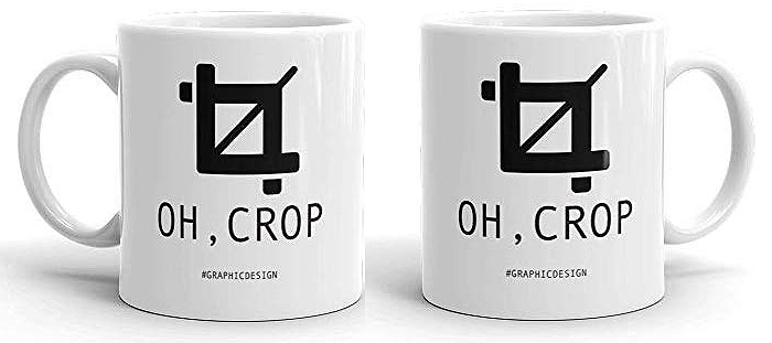 oh crop hilarious ceramic coffee cup