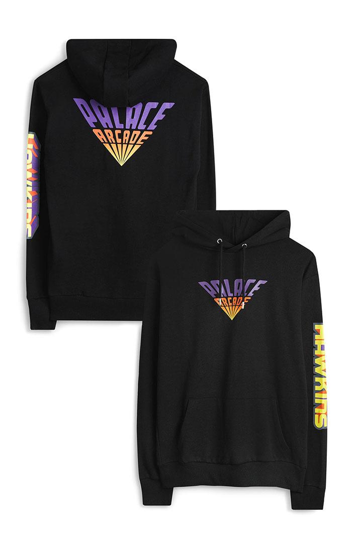 palace arcade logo hoodie