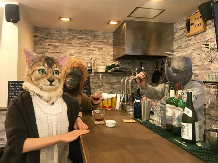 realistic pet replica mask