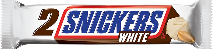 SNICKERS White chocolate bar share
