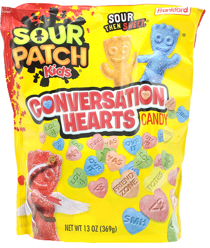 sour patch kids conversation hearts