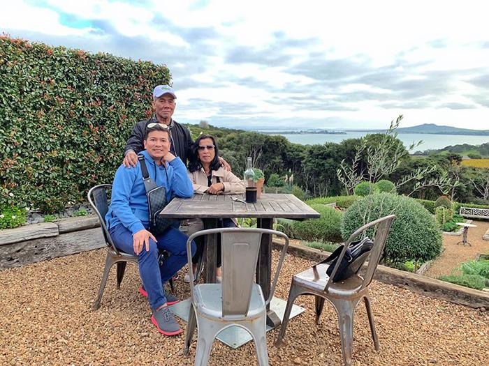 successful man brings adoptive parents to waiheke island