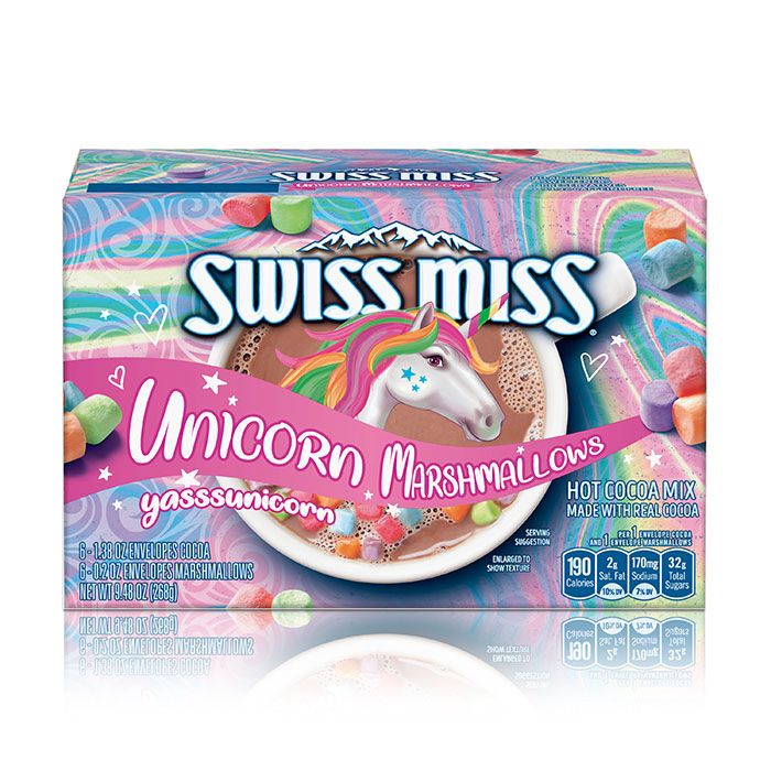 swiss miss unicorn marshmallows