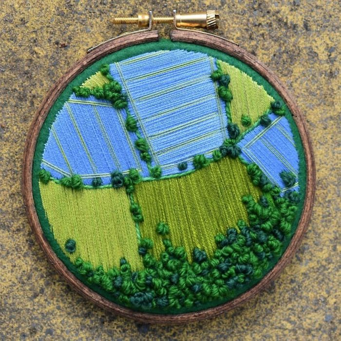 victoria richards aerial blue green fields