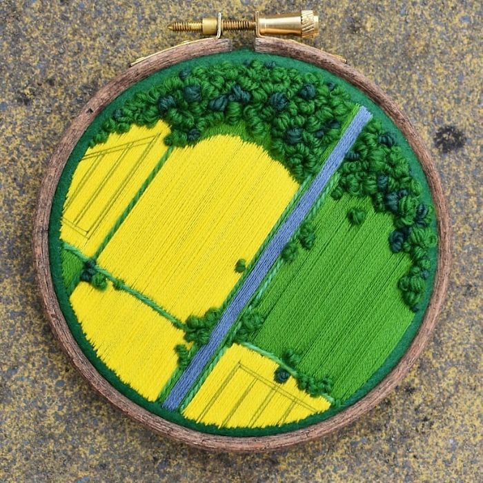 victoria richards yellow green fields