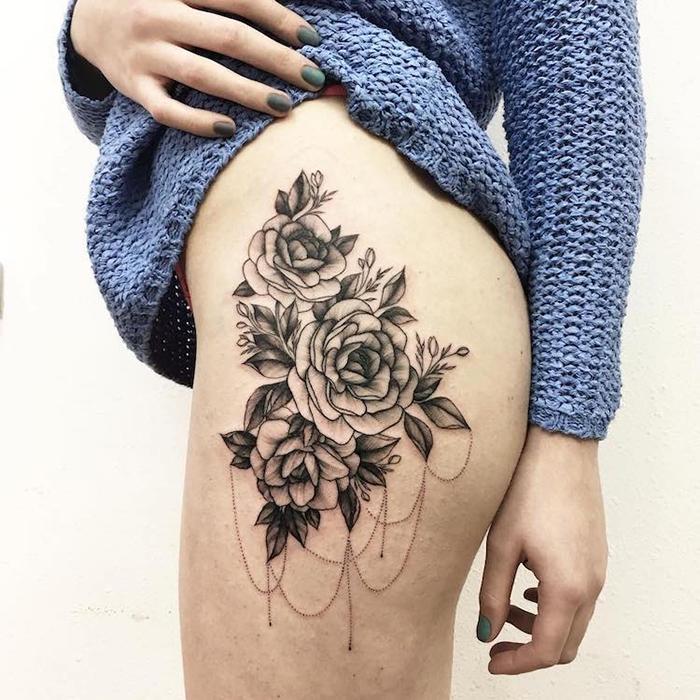 vlada shevchenko floral tattoos