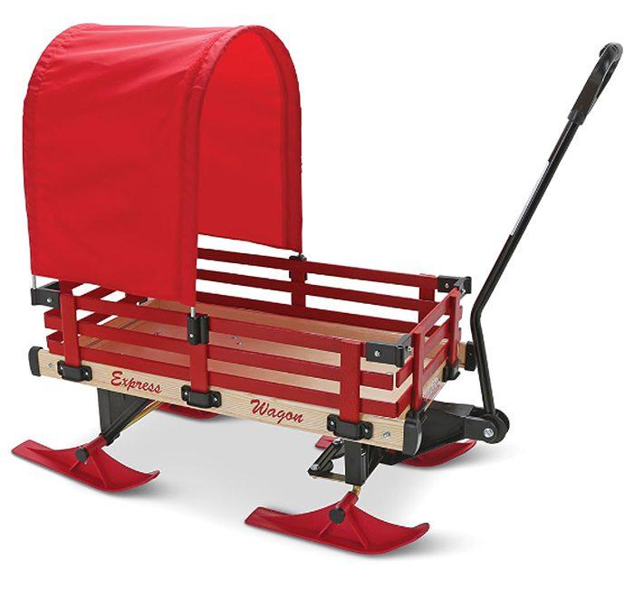 wagon sleigh canopy